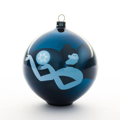 Blue Christmas Ornaments by Alessi