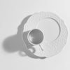 Dressed Breakfast Plate, White, by Alessi