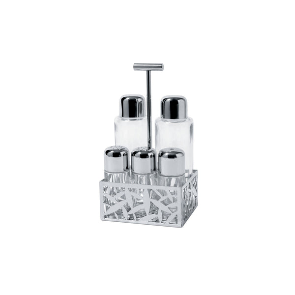 Cactus! Condiment Set, 5 Piece, by Alessi