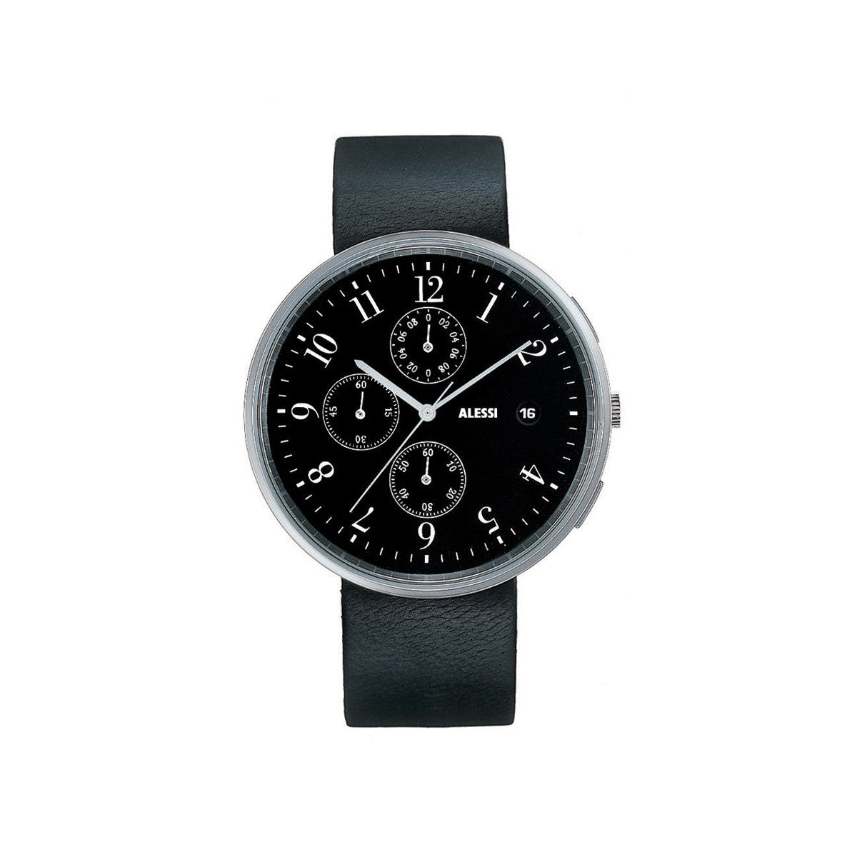 ALSL418 Alessi Strap Record Watch Leather 8003299947836