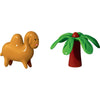 Dario Dromedario & Palmita Figurines, Set of 2, by Alessi