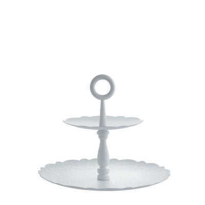 Dressed Two-Tiered Cake Stand by Alessi