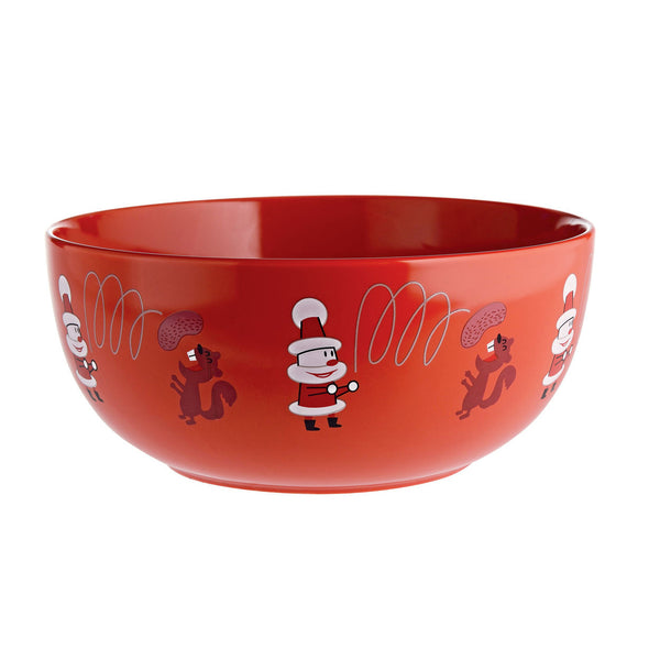Get nuts! Nut Bowl by A di Alessi