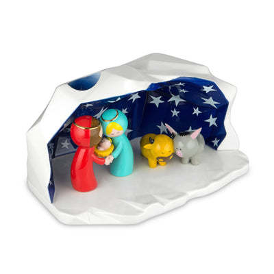 Happy Eternity Baby Crib Figurine by Alessi