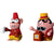 Jimmy Melody & Monkey Money Figurines, Set of 2, by Alessi