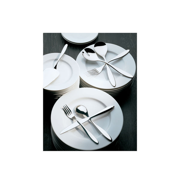 Mami Cake Server and Pastry Fork Set, 7 Piece, by Alessi