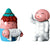 Nello Pastorello & Ciao Ciao Figurines, Set of 2, by Alessi