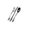 Nuovo Milano Flatware Place Setting, 24 Piece, Monobloc, by Alessi