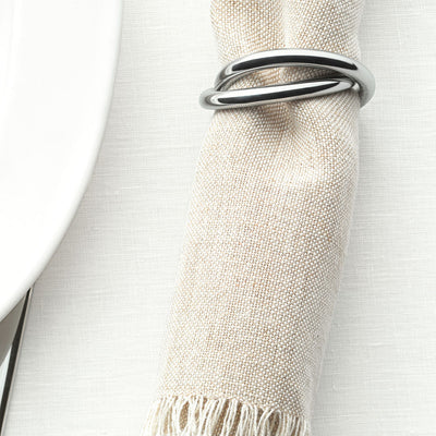 Oui Napkin Ring by Alessi