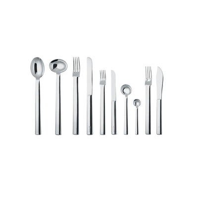 Rundes Modell Dessert Fork by Alessi