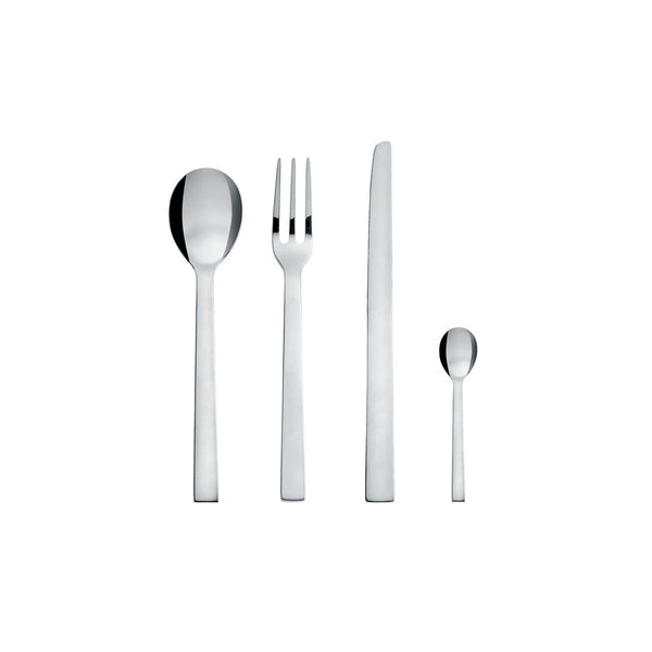 Santiago Dessert Spoon by Alessi