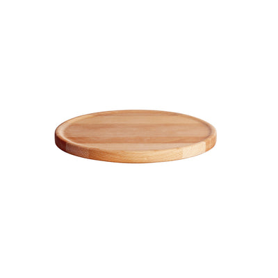 Tonale Plate, in Wood, by Alessi