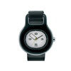 Replacement Strap for Buckle Watch, Black, by Alessi Watches