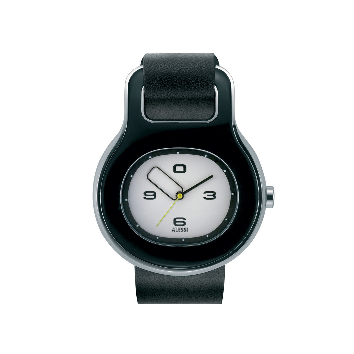 replacement strap for buckle watch black by alessi watches  - replacement strap for buckle watch black by alessi watches