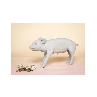 Bank in the Form of a Pig by Harry Allen