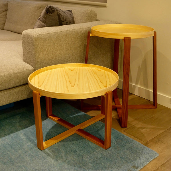 Magewa Wood Table with Tray by Asahineko