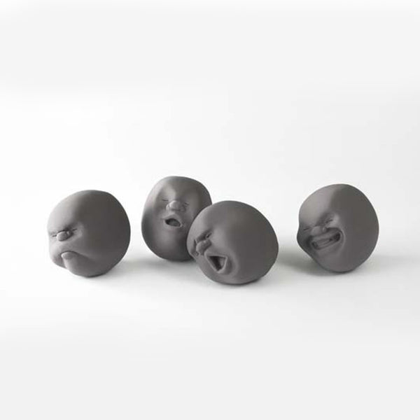 Caomaru Faces of the Moon Stress Ball by +d