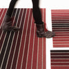 Block Stripe Shag Indoor-Outdoor Floor Mat by Chilewich
