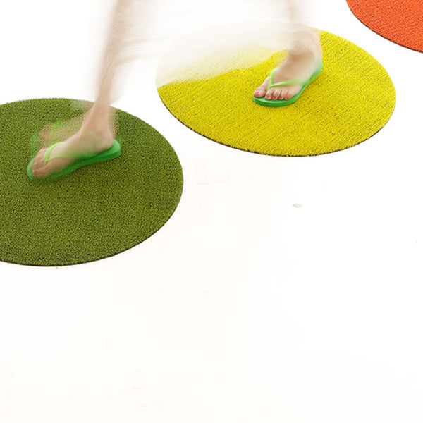 Dot Shag Indoor-Outdoor Floor Mat by Chilewich