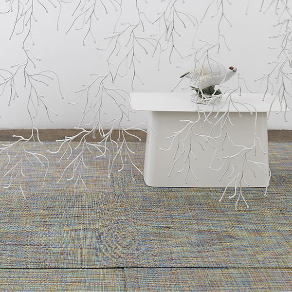 Mini Basketweave Woven Floor Mat by Chilewich