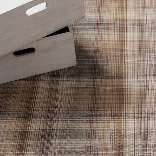 Plaid Woven Floor Mat by Chilewich