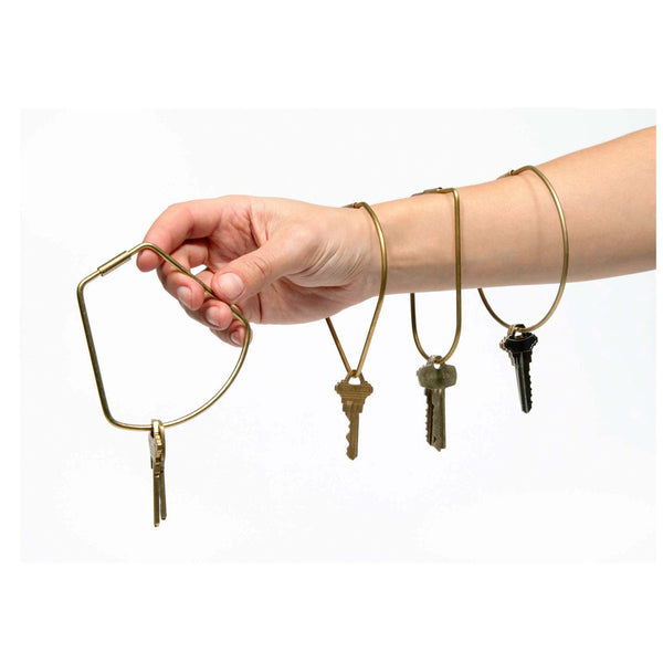 Contour Key Ring by Areaware