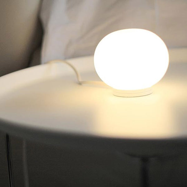 Mini Glo-Ball T Table Lamp by Flos