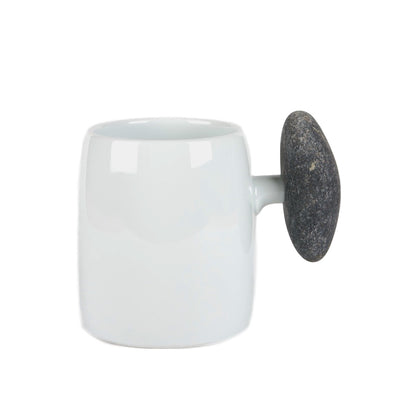 Beer Mug with Stone Handle by Hakusan