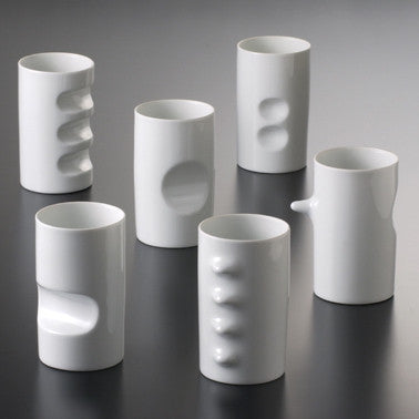 Fancy Cup, Set of 6, by Hakusan