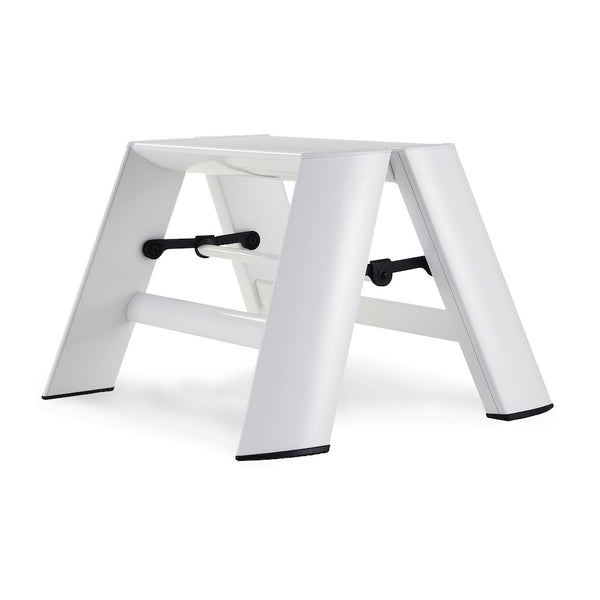 Lucano Step Stool, 1-Step, by Hasegawa Ladder