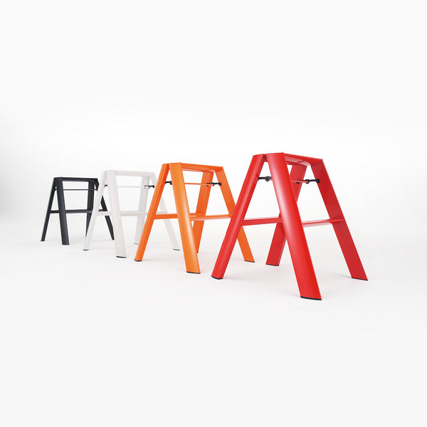Lucano Step Stool, 2-Step, by Hasegawa Ladder