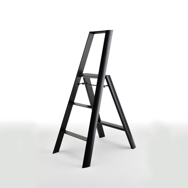 Lucano Step Stool, 3-Step, by Hasegawa Ladder