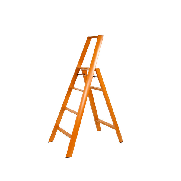 Lucano Step Stool, 4-Step, by Hasegawa Ladder
