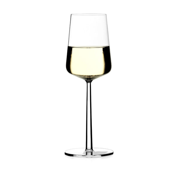 Essence White Wine Glass, Set of 2, by Iittala