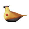 Cedar Waxwing Glass Bird by Iittala
