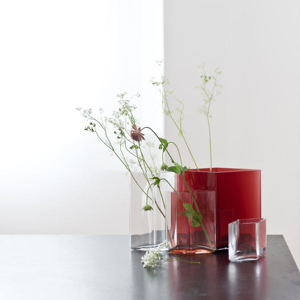 "Ruutu Vase 3"" by littala"
