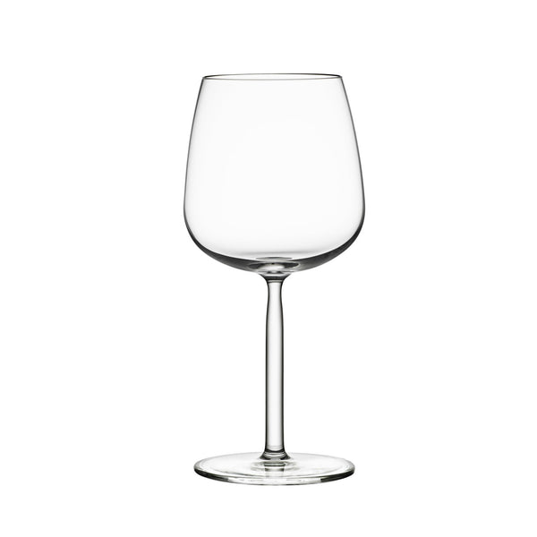 Senta Red Wine Glass, Set of 2, by Iittala
