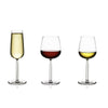 Senta White Wine Glass, Set of 2, by Iittala