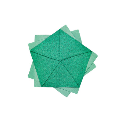 "Table flower, Emerald, 8"", by iittala X Issey Miyake"