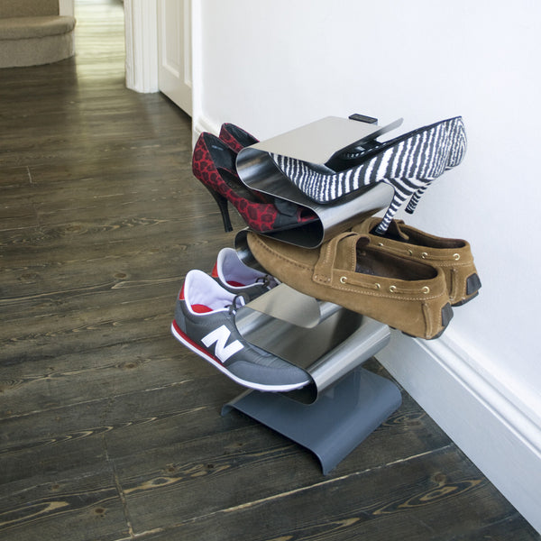 Nest Shoe Rack, Freestanding, by J-Me