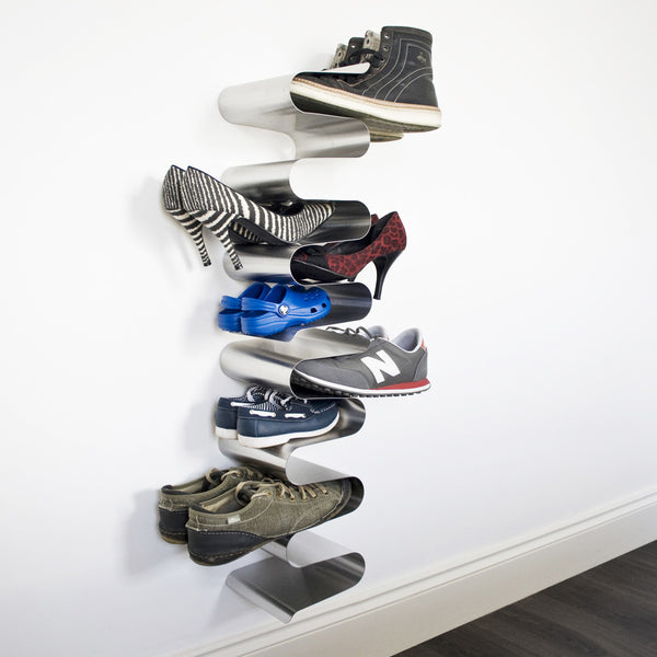 Nest Shoe Rack, Wall-Mounted, by J-Me