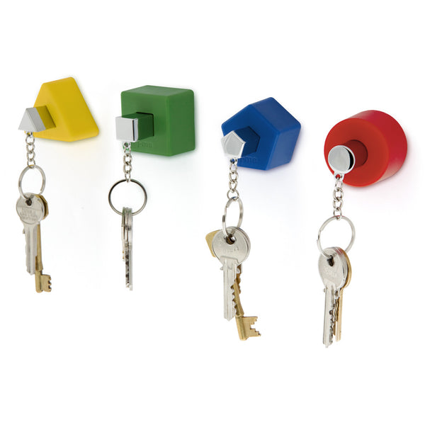 Shape Keyholders, Colour, Set of 4, by J-Me