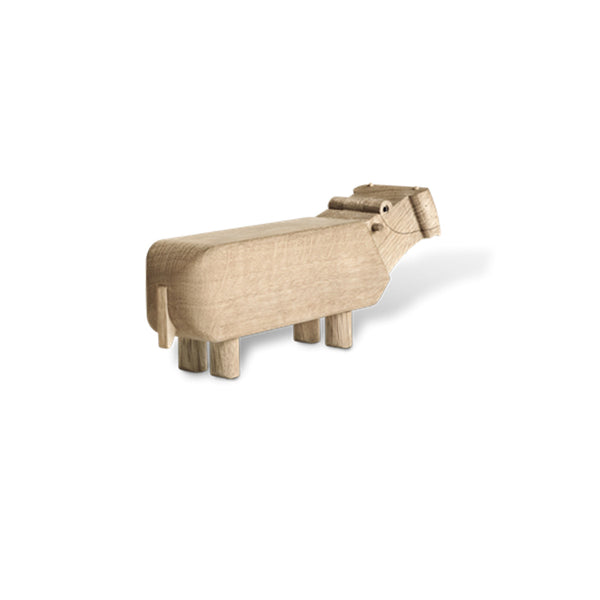 Hippo Wooden Toy by Kay Bojesen