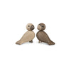Lovebirds Wooden Figurines by Kay Bojesen