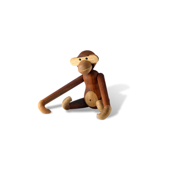 Monkey Wooden Toy by Kay Bojesen