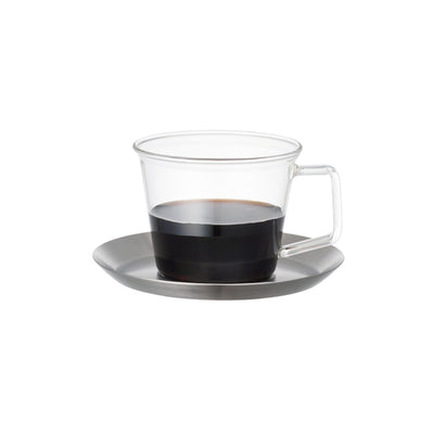 Cast Coffee Cup and Saucer by Kinto
