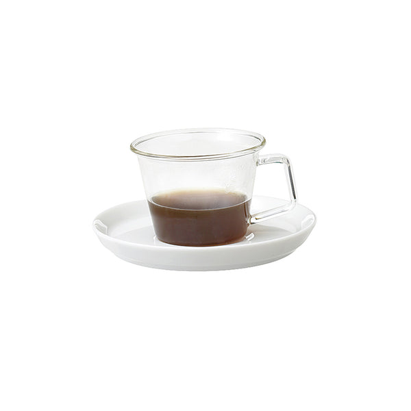 Cast Espresso Cup and Saucer by Kinto