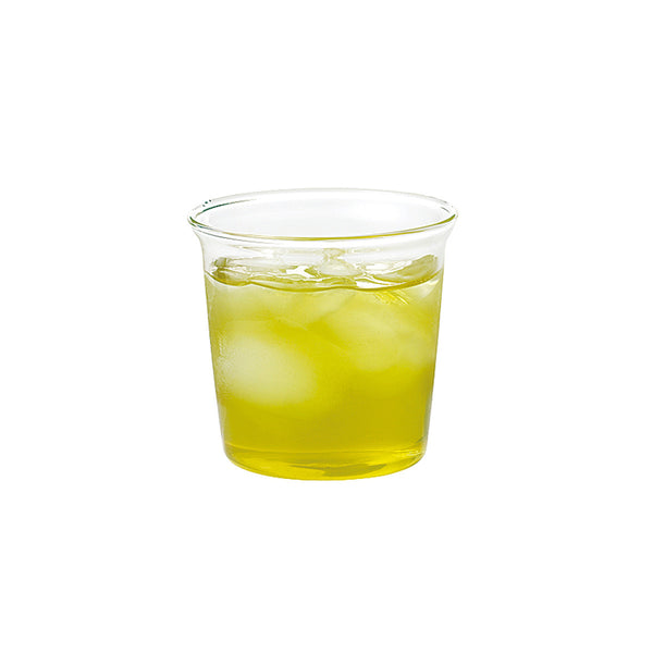 Cast Green Tea Glass by Kinto