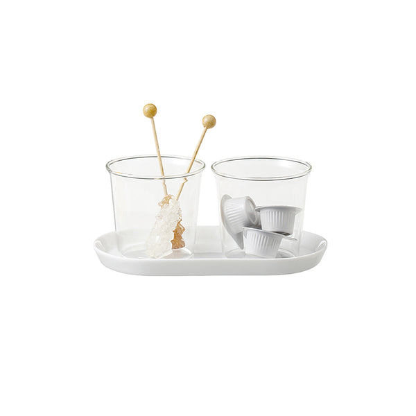 Cast Milk and Sugar Set by Kinto