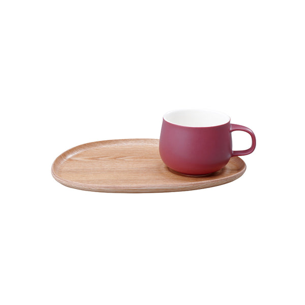 Fika Sweets Cup and Plate Set by Kinto